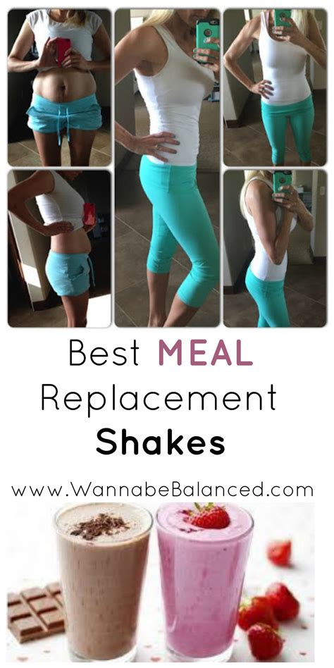 meal replacement shake weight loss protein plan wannabebalanced mom lori