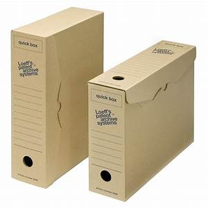 loeffs quick box a4 archival filing document storage box With archival boxes for documents