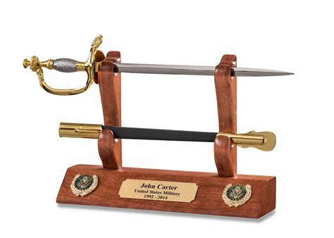 Army Nco Letter Opener And Display