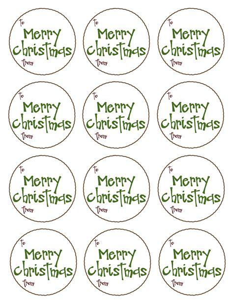 christmas gift tags templates free chainimage
