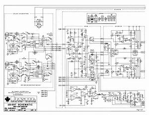 Bryston 4be Power Amplifier Schematic Sch Service Manual