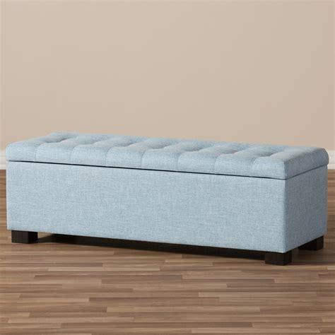baxton studio roanoke modern and contemporary light blue