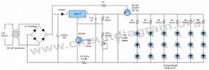 Led 12v Emergency Light Circuit Diagram  U2013 Periodic