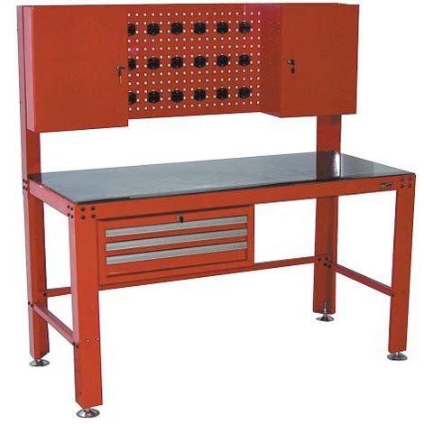 armadietti lavoro kravm krae09007 banco da lavoro con 3 cassetti e due