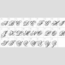 Old Cursive Alphabet  Images Of Cursive Letters Old English Tattoo Kootation Com Wallpaper