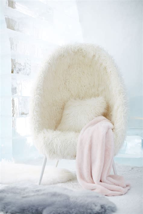 White Lounge Chair For Bedroom by Ivory Furlicious Faux Fur Cave Chair In 2019 Home Sweet