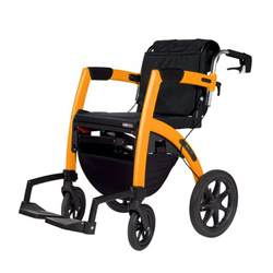 design rollator rollator two in one walker and wheelchairuniversal design style