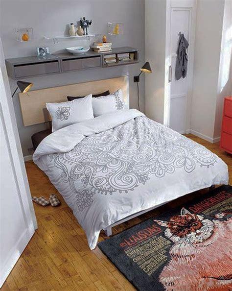 Decorating Ideas To Make Bedroom Look Bigger by 40 Design Ideas To Make Your Small Bedroom Look Bigger