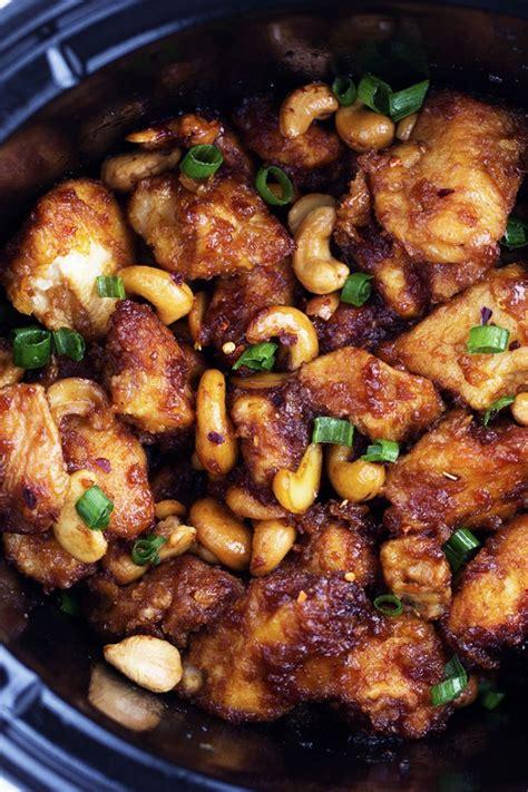 chicken crockpot recipe slow cooker cashew chicken the recipe critic
