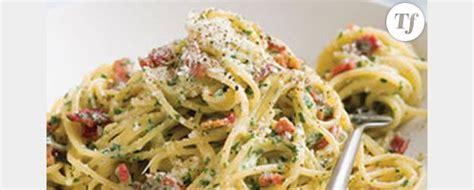 vrai recette pates carbonara recette concours la vrai recette italienne des pates carbonara