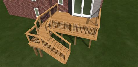 12x16 raised deck plans outdoor living chesterfield twp mi new cedar deck