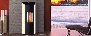 Poele à Bois Etanche : po le granul s de bois etanche levana 8 kw ~ Premium-room.com Idées de Décoration