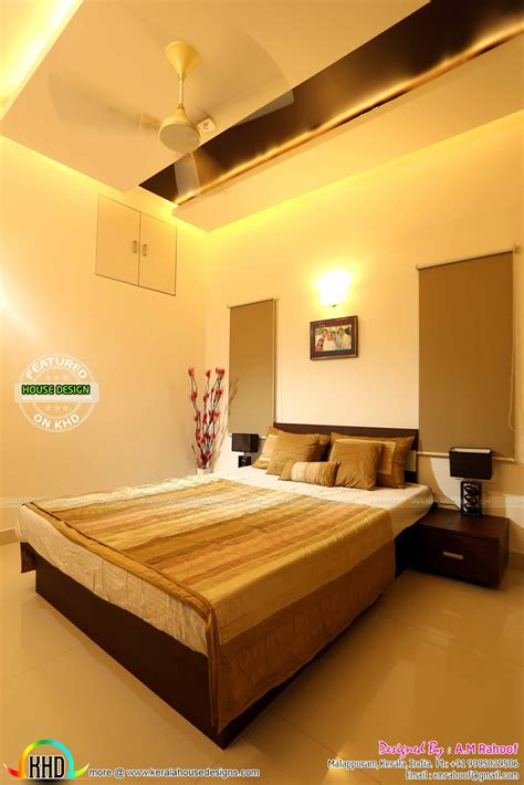 work finished furnished house  interiors kerala home design  floor plans