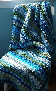 The Larksfoot Stitch Afghan In Beautiful Colors