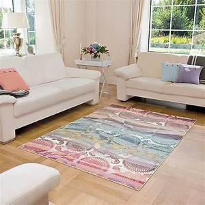 salon gris et rose pale With tapis champ de fleurs avec canape rose fushia