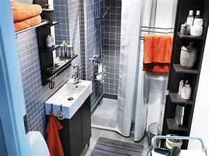 amenager une salle de bains exemples a suivre travauxcom With salle de bain design avec lavabo petit format