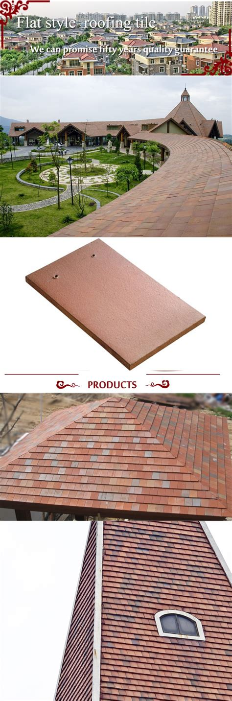 flat style roof tile roof step tile roofing sheet