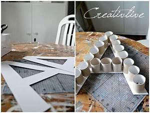 Buchstaben Deko Kinderzimmer : creativelive diy deko buchstabe diy pinterest diy deko buchstaben und deko ~ Orissabook.com Haus und Dekorationen