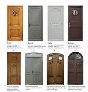 pose d une porte d entree en bois 1 porte bois style With porte d entrée pvc avec vente de meuble de salle de bain