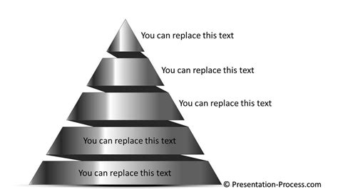 animated pyramid practical powerpoint animation series