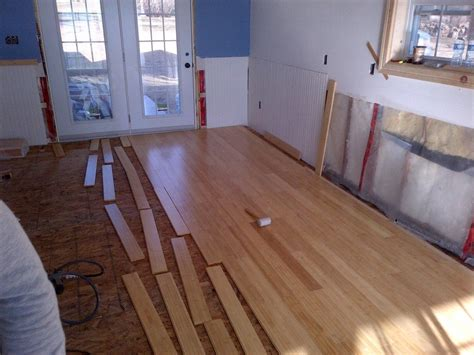 installing floating bamboo flooring how to install bamboo flooring in real wood best home decor ideas the main steps how to