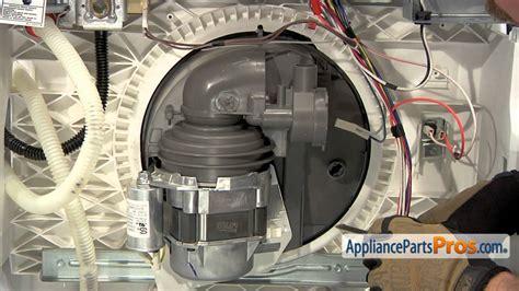 dishwasher circulation pump  motor assembly part