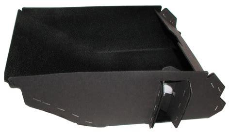 corvette glove box assembly  lens  bezel installed