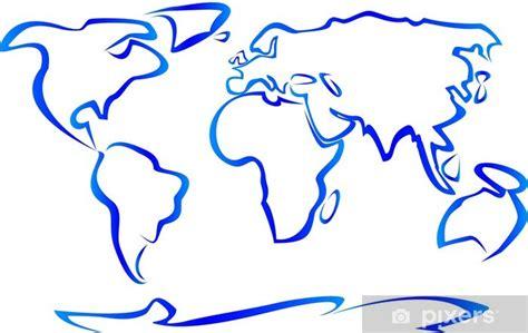 vinilo pixerstick dibujo planisferio pixers vivimos
