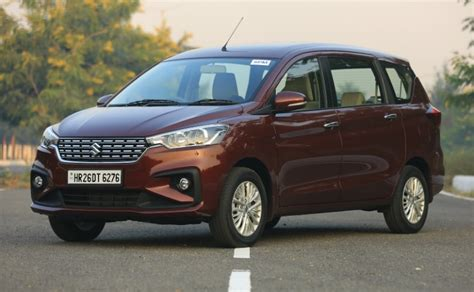 Review Suzuki Ertiga by New 2018 Maruti Suzuki Ertiga Review Ndtv Carandbike