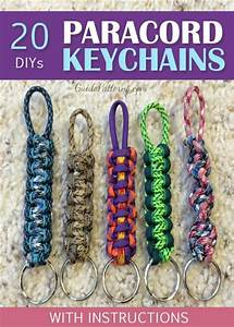 20 Diy Paracord Keychains With Instructions