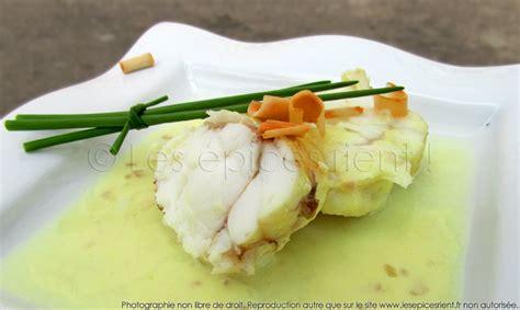 que cuisiner pour un repas en amoureux filet de lotte en infusion de citronnelle les épices rient