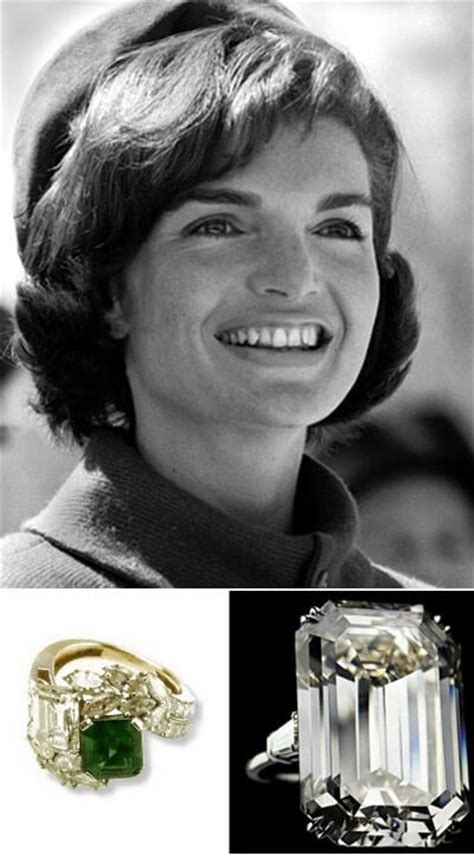 jackie onassis wedding ring the engagement rings of jackie kennedy onassis jonathan s fine jewelers