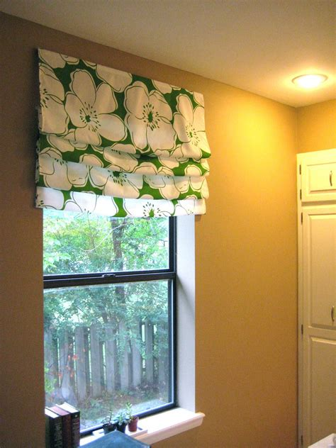 Easy Diy Roman Shade Tutorial {welcome To Heardmont} The