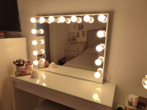 deluxe vanity mirror large by crafterscalendar