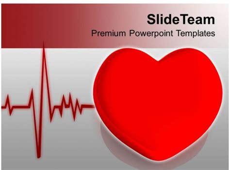 heart  heart beat cardiogram health powerpoint