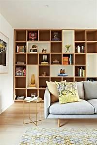 Bibliothèque Murale Bois : la biblioth que murale en 65 photos inspirantes ~ Premium-room.com Idées de Décoration