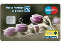 filiali popolare di sondrio prodotti e servizi privati carte di pagamento