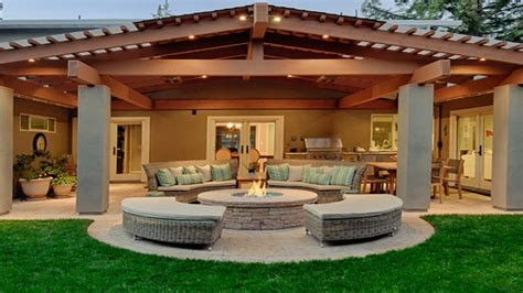 Covered Patio Bar Ideas by Gas Outside Pits Outdoor Covered Patio Design Ideas