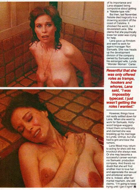 Lana Wood Nude Scandal Planet