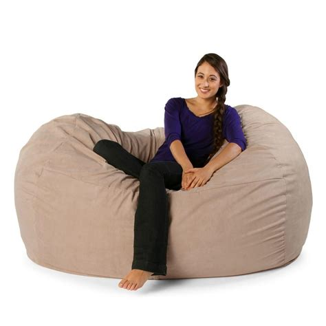 jaxx sofa saxx 5 5 foot jaxx lounger comfy bean bag chairs