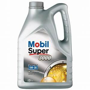 Huile Voiture Diesel : huile moteur mobil super 3000 5w30 essence et diesel 5 l ~ Medecine-chirurgie-esthetiques.com Avis de Voitures