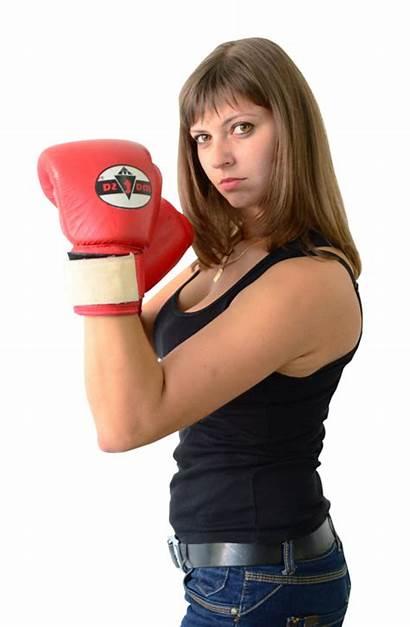 Boxing Gloves Woman Wearing Female Transparent Pngpix