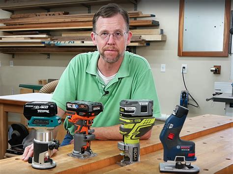 video cordless compact router overview woodworking