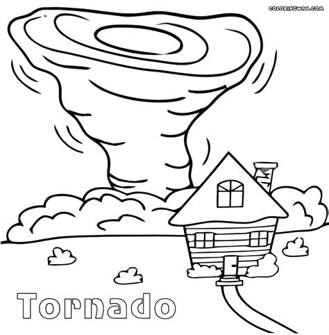 Tornado Coloring Pages To Download And Print For Free