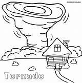 Tornado Coloring Pages Printable Sheet Cartoon Sheets Drawing Tornados Natural Disasters Air Tornadoes Drawings Preschool Draw Village Worksheets Oz Craft sketch template