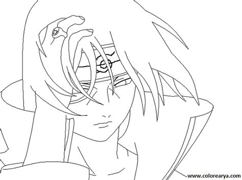 Itachi Coloring Pages - Costumepartyrun