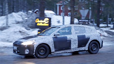 Best look yet at the 2018 Ford Focus caught with