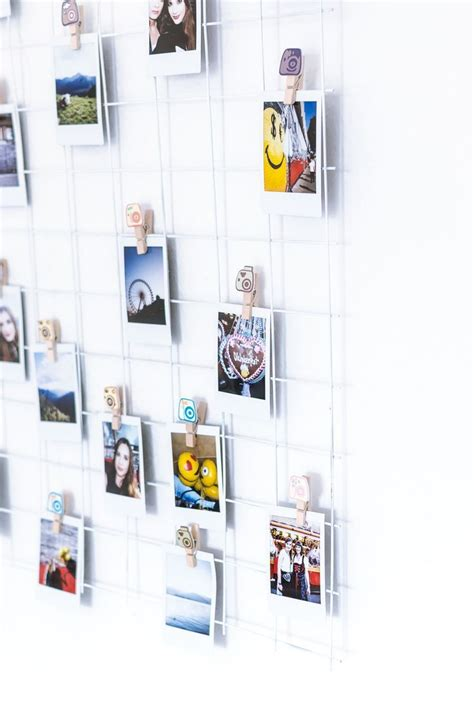 Fotos Aufhängen Wand by Diy Grid Wall F 252 R Fotos Diy Deko Upcycling F 252 R