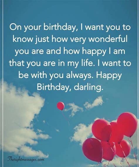 short  long romantic birthday wishes  boyfriend   messages