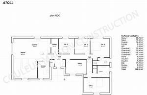 Couleur maison construction le plan de maison plain pied for Good plan de maison 150m2 6 couleur maison construction plan de maison de plain pied